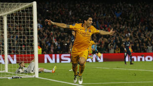 Luis Suarez's hat trick took his tally of league goals to 40.