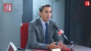 Julien Aubert, député du Vaucluse, membre du conseil stratégique des Républicains sur RFI, le 24 octobre 2019.