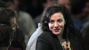 Emmanuelle Cosse, secrétaire nationale d'Europe Ecologie-Les Verts.