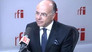 Bernard Cazeneuve, ministre délégué auprès du ministre des Affaires étrangères, chargé des Affaires européennes.