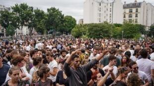 Fiesta de la música en París el 21 de junio