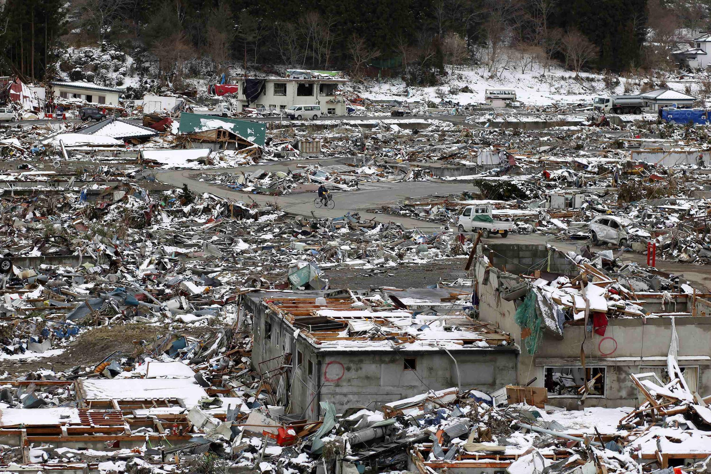 Yadda ambaliyar ruwan Tsunami ta yi barna a Japan