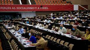 The Cuban Communist Party congress meets in Havana on April 17, 2021