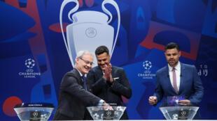Lễ bốc thăm chia cặp đấu tứ kết Champions League và bán kết Europa League ngày 15/03/2019 tại Nyon, Thụy Sĩ.