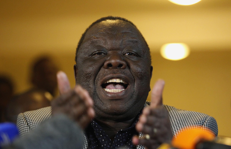 مورگان چانگیرای، رهبر تاریخی نیروهای مخالف رابرت موگابه در کشور افریقائی زیمبابوه