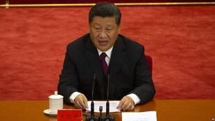 中國國家主席習近平在紀念五四運動100周年大會上發表講話