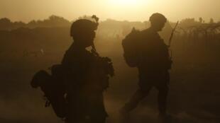 Патруль армии США в провинции Кандагар