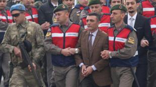 Zekeriya Kuzu, một trong những nghi phạm chính bị cho là muốn ám sát tổng thống Thổ Nhĩ Kỳ Erdogan. Ảnh ngày 20/02/2017.