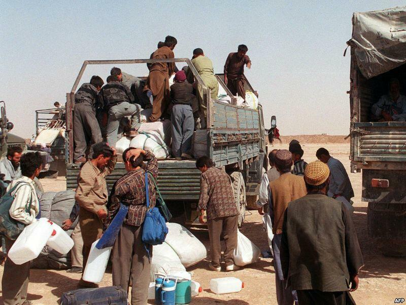 L'Afghanistan est le pays qui génère le plus de réfugiés au monde. (Photo: réfugiés afghans).
