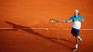 Lucas Pouille will contest his first semi-final at a Masters series against Britain's Andy Murray.