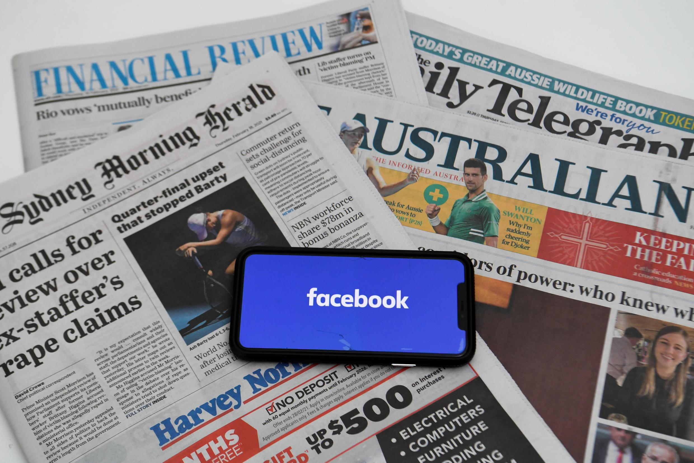 2021-02-18 AUSTRALIA MEDIA FACEBOOK news media nespapers