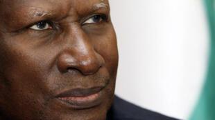 Abdou Diouf, président de l'Organisation internationale de la Francophonie.