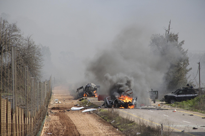 Ataque do Hezbollah atingiu um comboio militar israelense nesta quarta-feira, na fronteira com o Líbano (28).