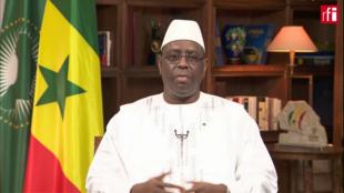 Presidente do Senegal, Macky Sall.