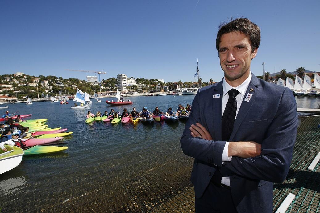 Tony Estanguet,président du Comité d'Organisation des Jeux olympiques 2024.