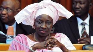 Aminata Touré, ici en 2012 au Parlement, a été nommée Premier ministre du Sénégal ce dimanche 1er septembre.