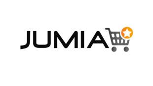 Le logo de l'entreprise d'ecommerce Jumia, au Nigeria.