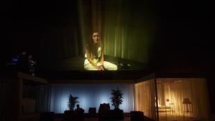'2666' de Julien Gosselin en el Festival de teatro de Aviñón.