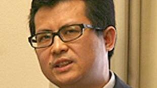 Ông Quách Phi Hùng, nhà tranh đấu nhân quyền.