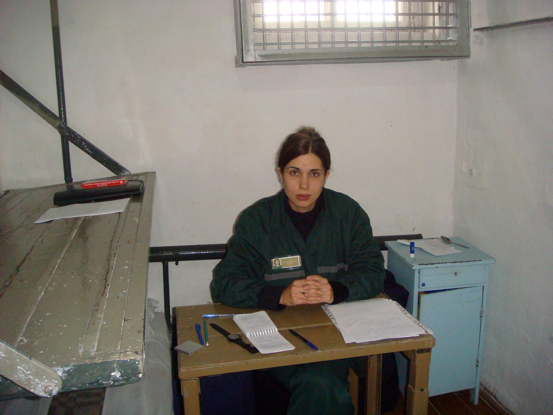 Nadejda Tolokonnikova, le 25 septembre 2013 dans sa cellule du camp de Partza.