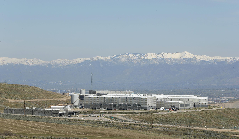Trung tâm thu thập dữ liệu tình báo của NSA tại tiểu bang Utah, gần Salt Lake City, nơi luôn đauwợc bảo vệ nghiêm ngặt. Ảnh chụp ngày 12/04/2017