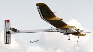 """La versión 1 del """"Impulse"""" en un vuelo de 2012"""