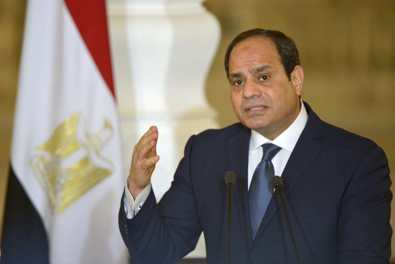 Tổng thống Ai Cập  Abdel Fattah al-Sissi, tại Cairo, ngày 02/3/2017.