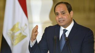 Le président égyptien  Abdel Fattah al-Sissi (ici en mars 2017) a choisi la fin du ramadan pour ratifier l'accord avec l'Arabie saoudite.
