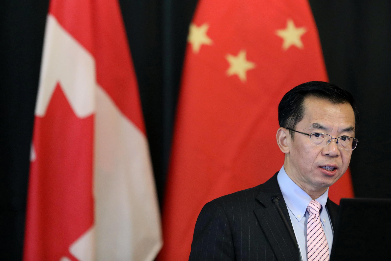Ông Lô Sa Dã (Lu Shaye), đại sứ Trung Quốc tại Pháp. Ảnh chụp ngày 14/12/2018 khi ông còn là đại sứ Trung Quốc tại Canada.