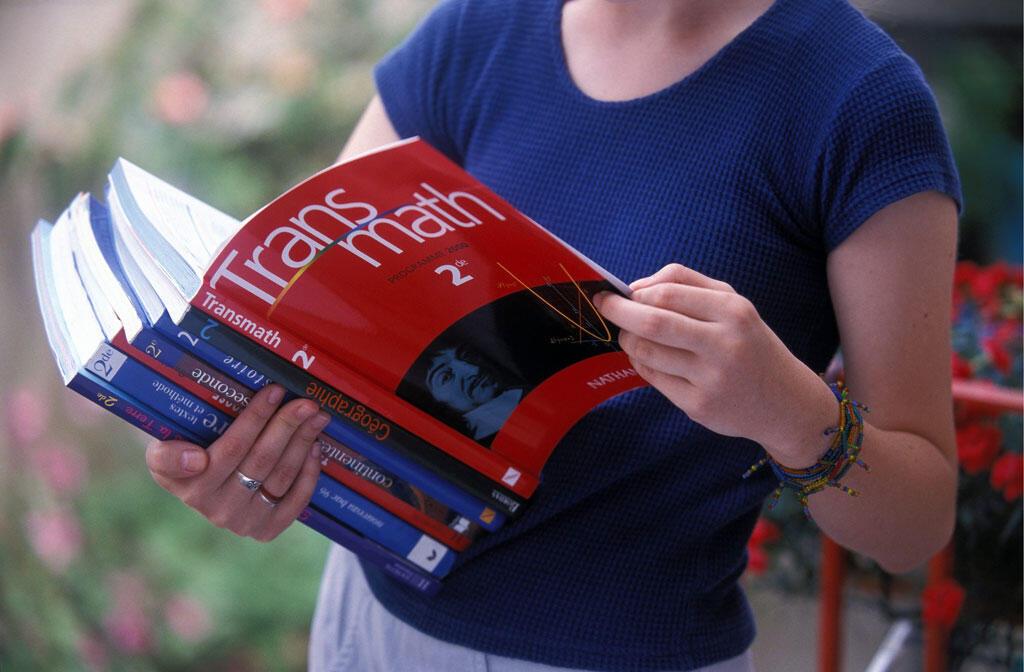 Des manuels scolaires (photo d'illustration).