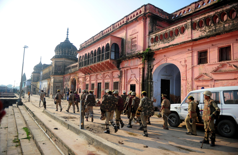 Le site d'Ayodhya est, depuis des siècles, l'objet d'un conflit entre hindous et musulmans en Inde.