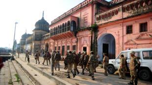 Le site d'Ayodhya est, depuis des siècle, l'objet d'un conflit entre hindous et musulmans en Inde.