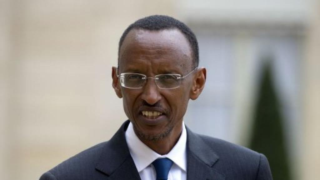 Rais wa Rwanda, Paul Kagame.