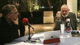 Daniel Desesquelle et  Antonis Papagianidis.