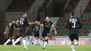 SL Benfica - Pizzi - Seferovic - Grimaldo - Desporto - Futebol - Football - Liga Portuguesa