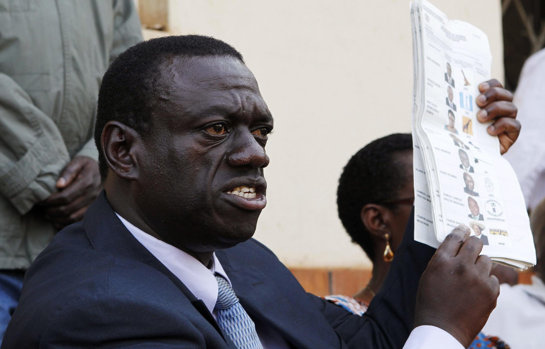 Kiongozi wa upinzani Uganda, Kizza Besigye.
