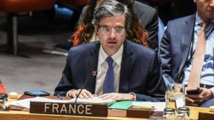 François Delattre, سفیر فرانسه در سازمان ملل متحد، در دسامبر سال ٢٠۱٧
