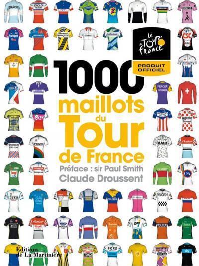 Книга «1000 маек Tour de France» знакомит с вековой историей велогонки