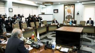 Ziyarar shugaban hukumar IAEA Rafael Grossi a Iran don duba sabbin sauye-sauyen da kasar ta samar a fannin Nukiliya. Atomic Energy