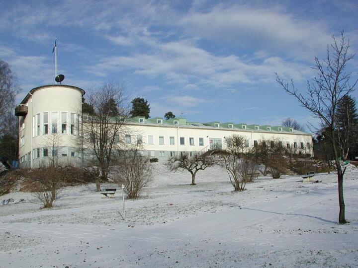 Здание Стокгольмского института исследования проблем мира (SIPRI)