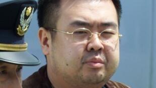 Kim Jong Nam lúc bị bắt ở Nhật năm 2001 vì sử dụng hộ chiếu giả.