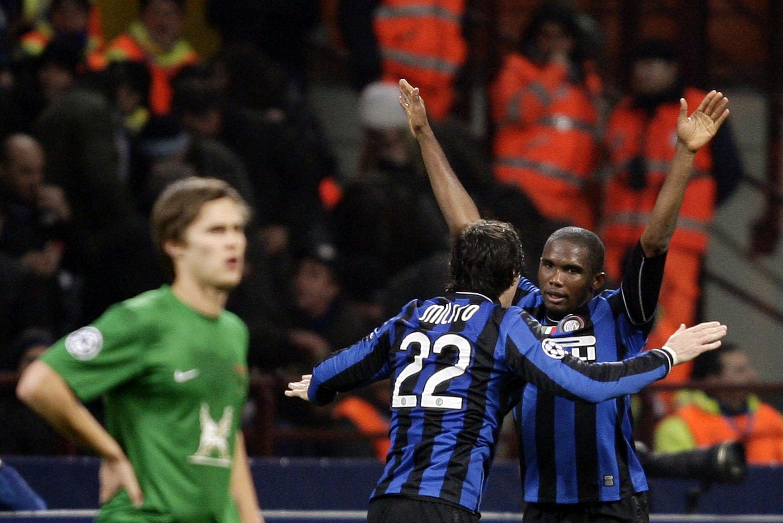 Samuel Eto'o à l'Inter Milan.