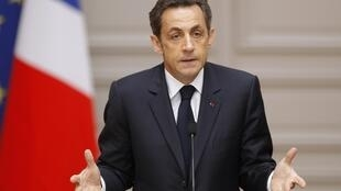 Shugaba Nicholas Sarkozy na Faransa