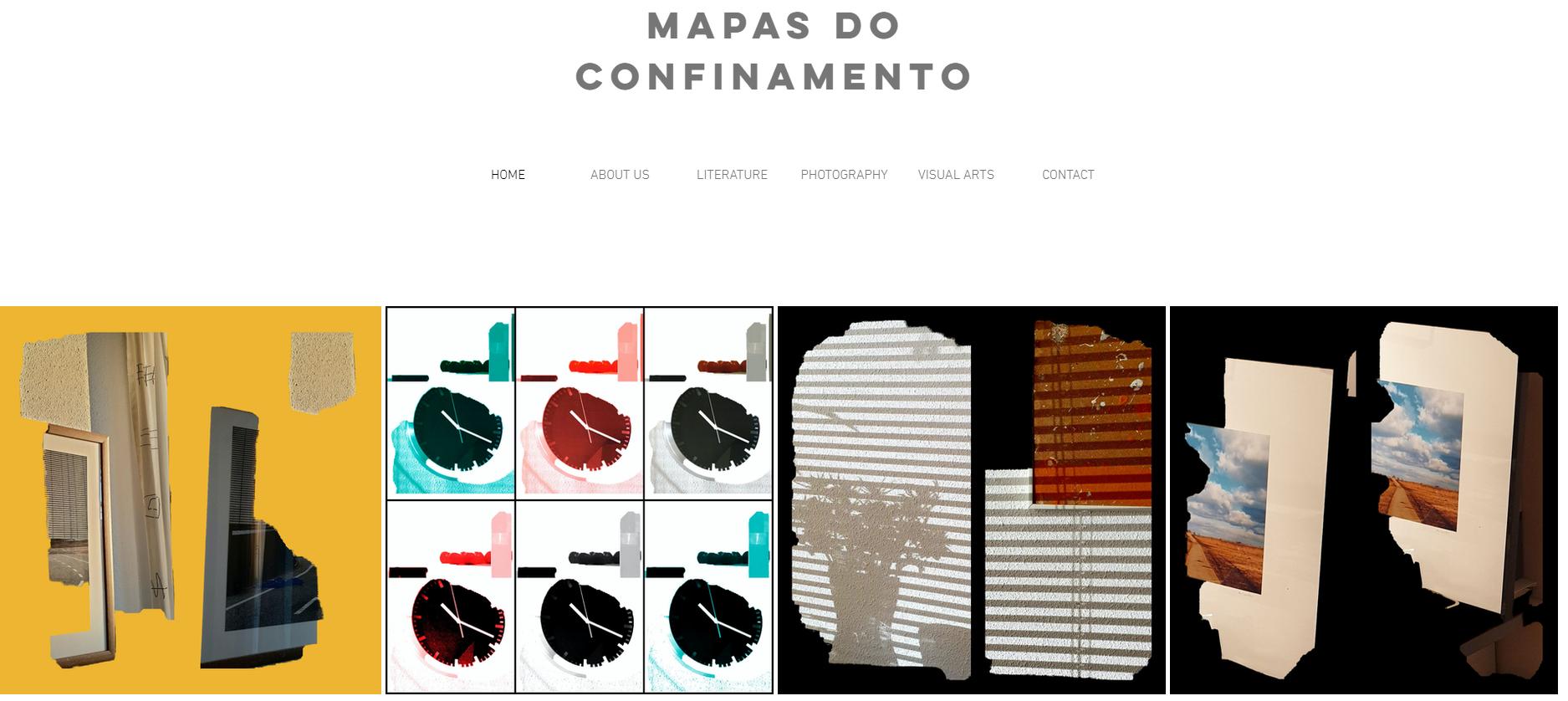 mapas confinamento