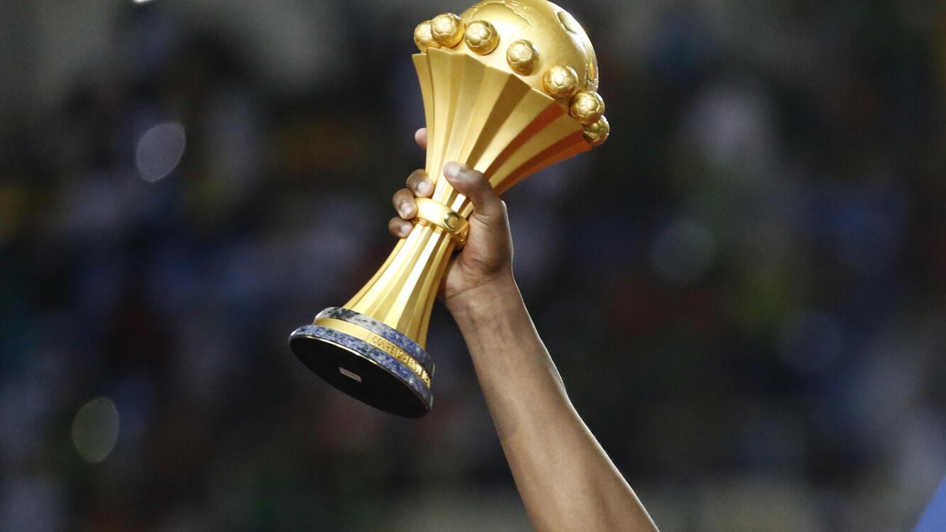 Le trophée remis au vainqueur de la Coupe d'Afrique des nations de football.
