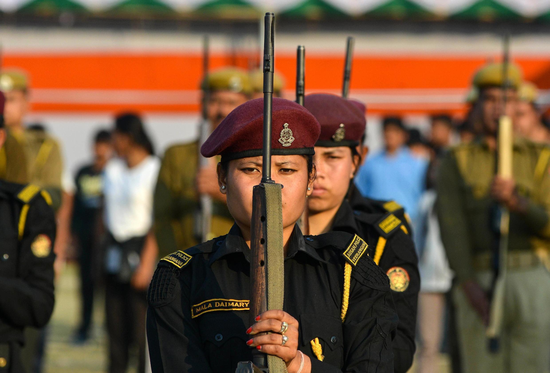 Mulheres representam apenas 4% dos integrantes das Forças Armadas da Índia.