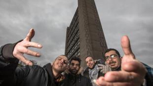 Le quatuor palestinien 47 Soul.