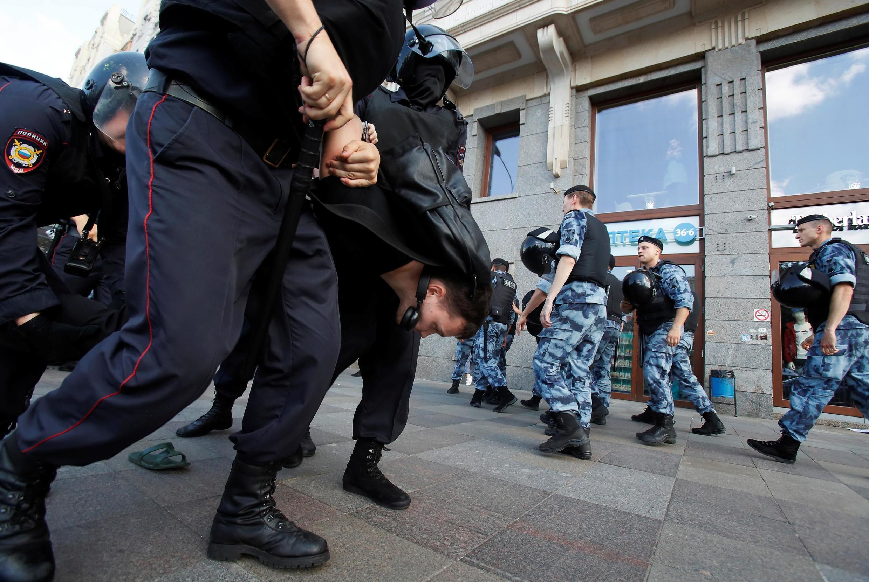پیشتر دستگاه قضائی روسیه اعلام کرده بود که با هرگونه تظاهراتی که مجوز برگزاری نداشته باشد، برخورد خواهد کرد.