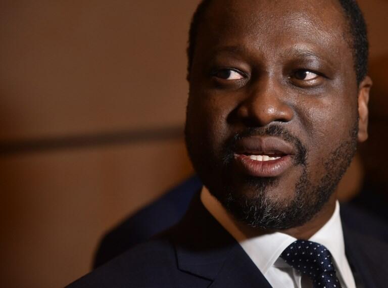 Guillaume Soro, hapa ilikuwa Julai 20, 2017 katika uwanja wa ndege wa Abidjan.