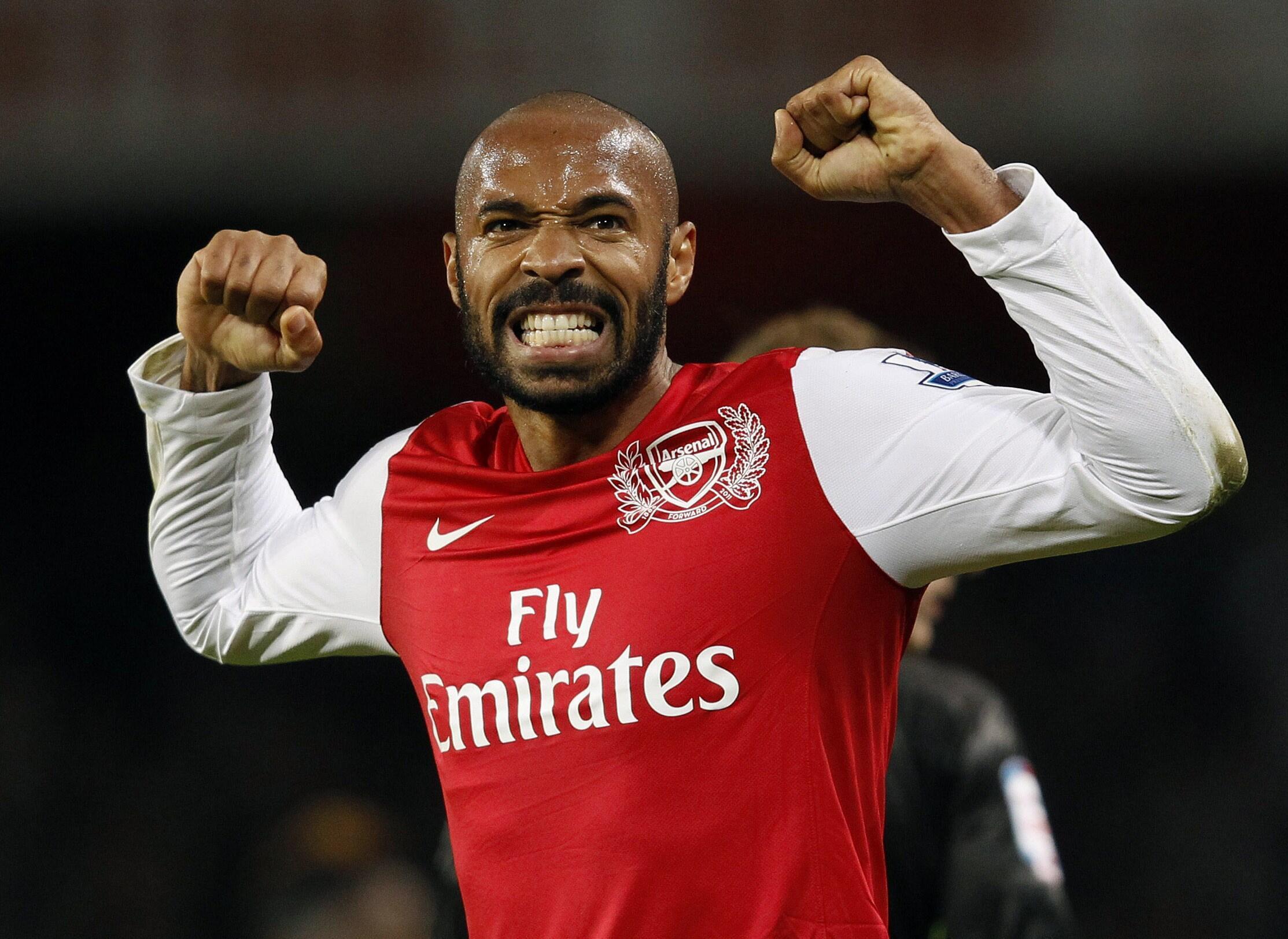 Mchezaji wa Arsenal, Thierry Henry